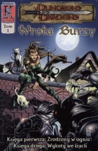 WROTA BURZY TOM 1 DUNGEONS & DRAGONS Sean Smith
