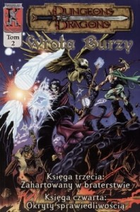 WROTA BURZY TOM 2 DUNGEONS & DRAGONS Sean Smith
